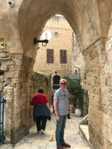 Walking the old streets of Joppa
